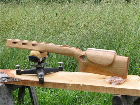 bench rest stocks f class benchrest rifle stock tiger maple cherry and