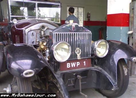 roll royce bahawalpur pictures of historical cars used by the nawabs of bahawalpur