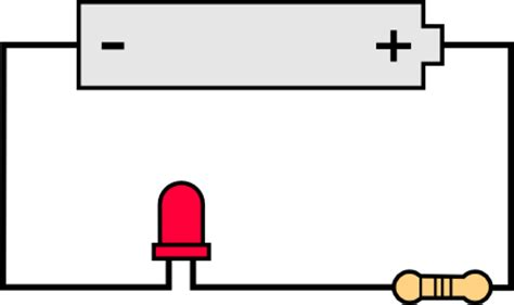 how to connect diodes in series light emitting diodes leds learn sparkfun