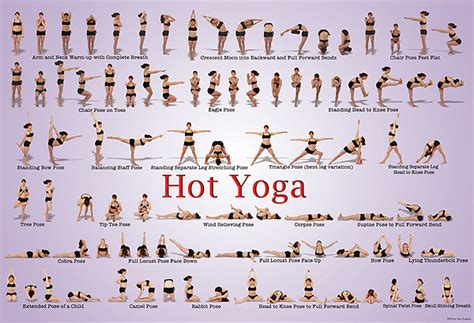 printable yoga poster hot yoga poster floor and wall charts