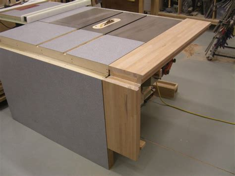 folding sliding table  extension wing