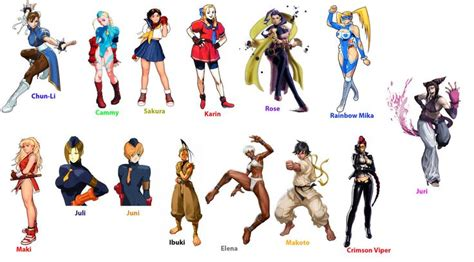 from street fighter main character name street fighter women street fighter girls by algono