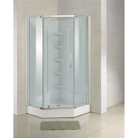 Quot Neoangle Quot Shower Door Rona