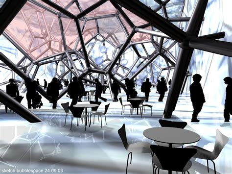 Network Interiors by Water Cube Para Beijing 2008 Divagaciones Arquitectonicas