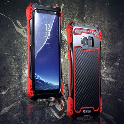 R Samsung S8 R Just Amira Heavy Duty Dirtproof Shockproof Rainproof Aluminum Metal Armor King