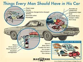 things every house should things every man should have in his car lewrockwell