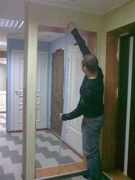 how to measure a door with your own