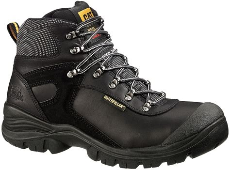 Caterpillar Solid Boots Safety caterpillar cat pneumatic s3 black safety boot mens ebay