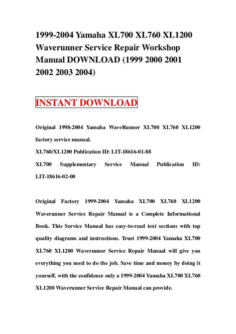 service manual how can i learn to work on cars 1995 suzuki esteem auto manual service manual 1999 2004 yamaha xl700 xl760 xl1200 waverunner service repair worksho