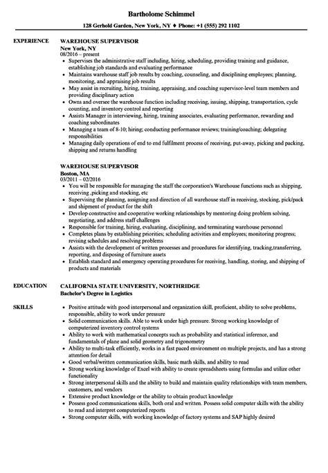 ideas of sample resume for housekeeping supervisor position bongdaao