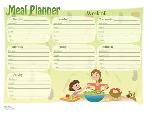 by your hands: organizing meal planning ideas