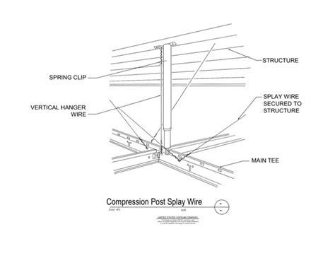 wire details usg design studio 09 22 26 23 138 metal suspension