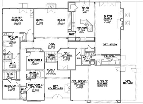 standard house plans standard ranch house plans home design and style