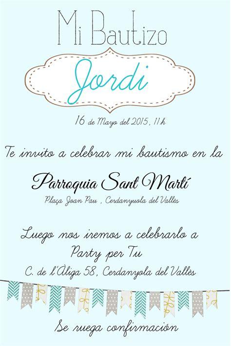 invitaciones de bautizo para nino invitaciones per tu