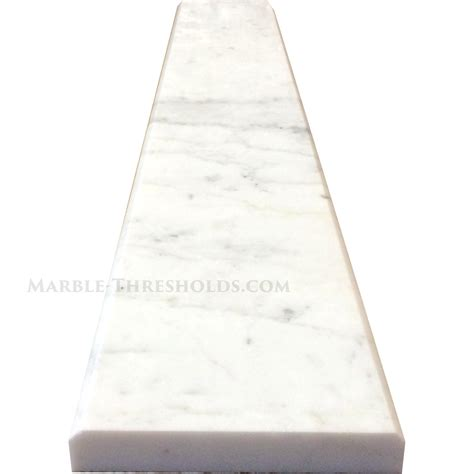 calacatta gold marble saddles and door thresholds size