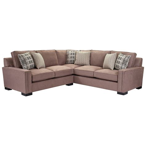 broyhill furniture rocco 2 piece sectional with corner
