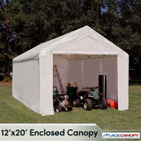 Enclosed Canopy Tent Enclosed Canopy 12x20