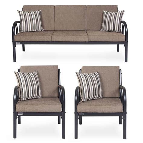 metal loveseat metal sofa set metal sofa set fk sf hs 8074 3 1 thesofa