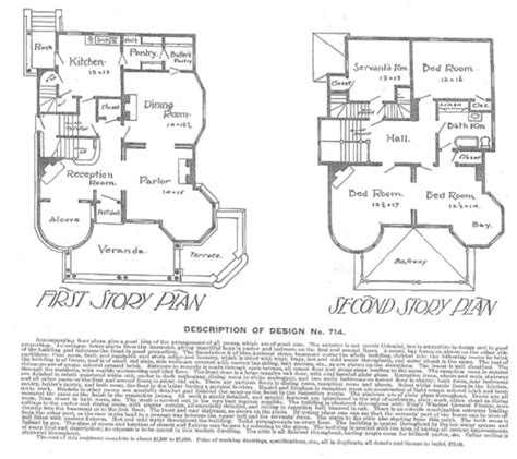 19th century floor plans 19th century house view and floor plan