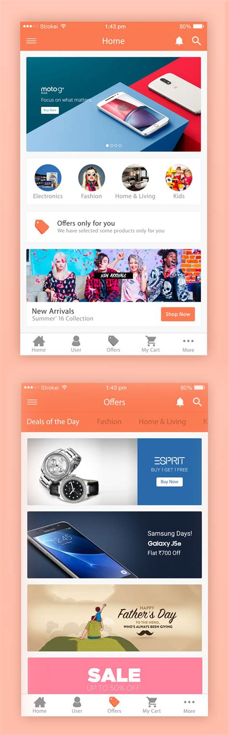 ecommerce app ui free psd download download psd free psd files psd mockup templates freebies graphic