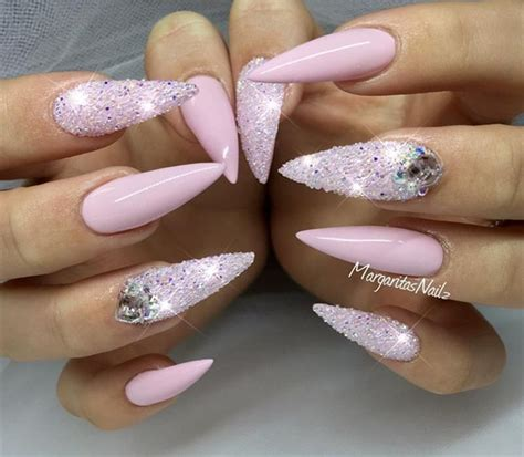 Nail Nails by Acrylic Nails With Glitter Nail Ideas