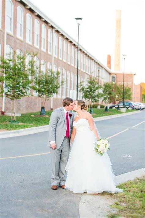 greensboro nc wedding hair revolution mills landon brooke married greensboro