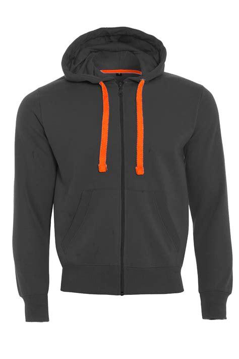 Zipper Hoodie mens fleece zip up zipper hoodies sweatshirt neon strings