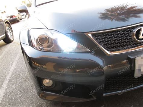 Projieprojector Led Lexus 3 Emiter cree high power 9005 led lights for high beam daytime