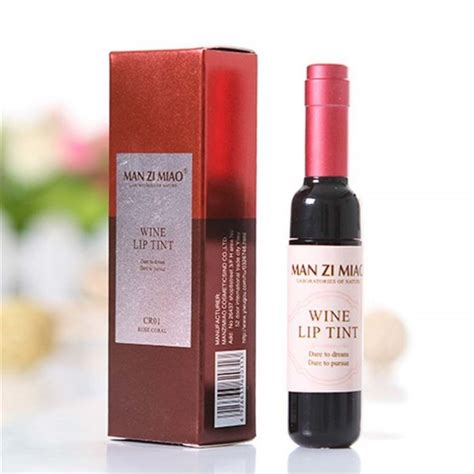 Wine Lip Tint Zi Miao aliexpress zi miao wine lip tint 6 colors