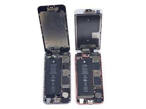 ifixit reveals 1715 mah battery in iphone 6s teardown