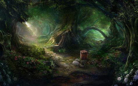 the lost rainforest mez s magic books 梦幻森林ppt背景图片 ppt宝藏提供
