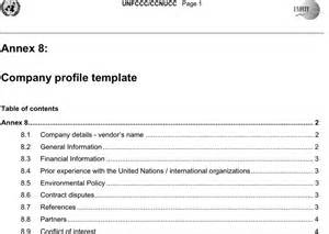 how to make a company profile template company profile template for free tidyform