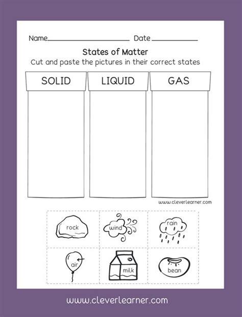 Preschool Science Worksheets