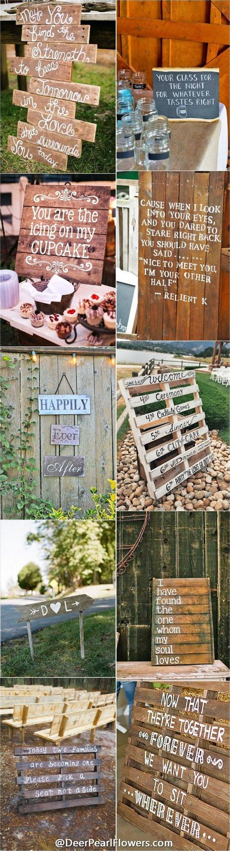 Wedding Quotes Country by Wedding Quotes Rustic Country Wedding Signs Www