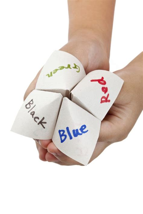 Paper Fortune Teller - paper fortune teller quotes quotesgram