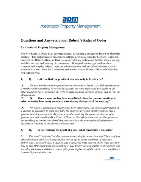 corporate minutes template word formal meeting using robert s rules
