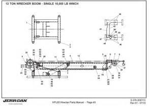 jerr dan winch parts diagrams wiring diagram schematic
