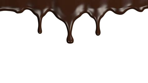 Chef Squeezes Cream. Chocolate Icing On The Cake. White ... Dripping Chocolate Background