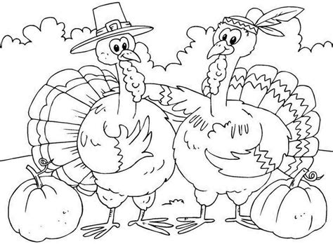 printable coloring pages printable thanksgiving color pages chuckbutt