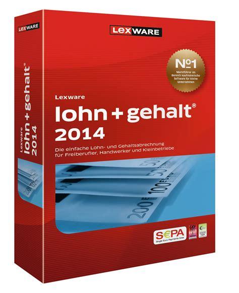 Lexware Lohn Und Gehalt 1365 by Lexware Lohn Gehalt 2014 Version 18 00 De Software