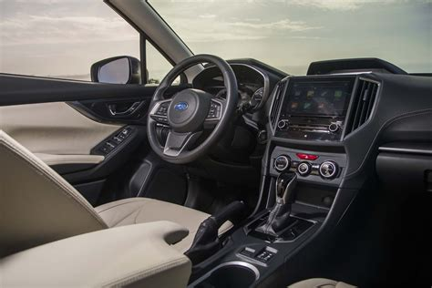 subaru interior 2017 all new 2017 subaru impreza bows in new york automobile