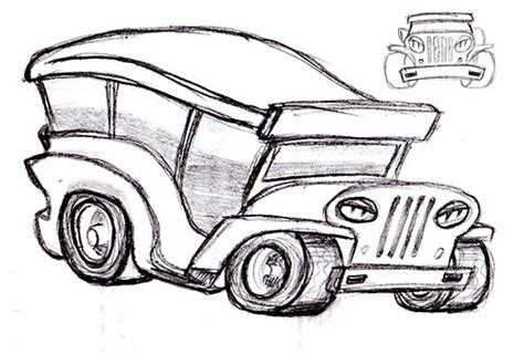 philippine jeep drawing jeepney the pinoy jeepney with attitude kevin p