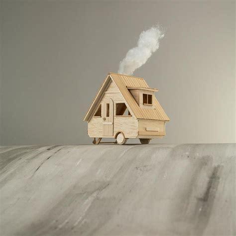 membuat cerita fantasi irisan cara desain miniatur rumah kayu ini akan membuat