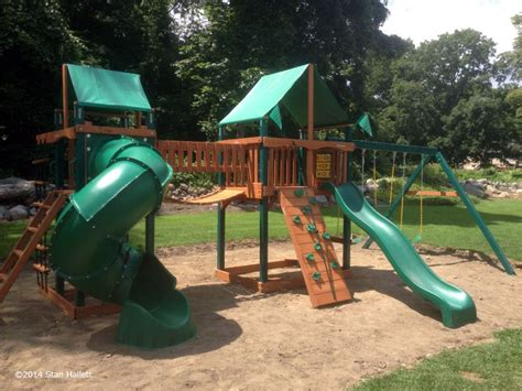 gorilla playsets savannah ii swing set playset gallery swing set installation ma ct ri nh me