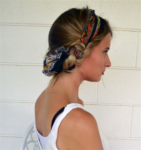 Hairstyle Helper by Why You Need A Printed Scarf This Summer