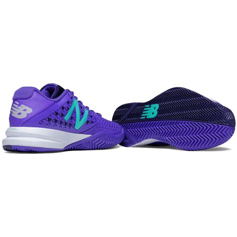 new balance womens 996v2 tennis shoes purple b