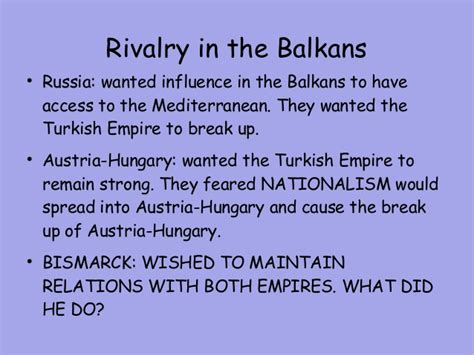 why did the ottoman empire break up lecture 2 bismarck