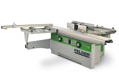 used combination woodworking machine felder woodworking machines format sliding table saws