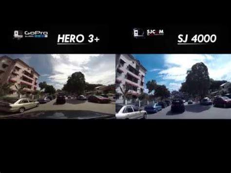 Sjcam Vs Gopro sj4000 wifi vs gopro hero3 comparison hd
