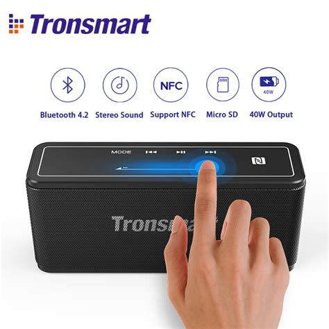 Tronsmart Soundbar Stereo Bluetooth Speaker T6 tronsmart element mega bluetooth speaker soundbar portable wireless speakers for mp3